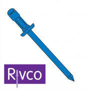 Rivco Multigrip Rivet Dome Head Steel Body Steel Mandrel SDM
