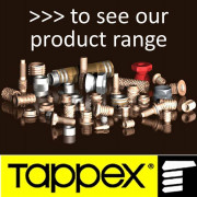 Metric Coarse Tappex Threaded Inserts