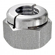 BA Aerotight All Metal Locking Nut Thick Stainless-Steel-A4