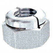 BSF Aerotight All Metal Locking Nut Thick Stainless-Steel-A4