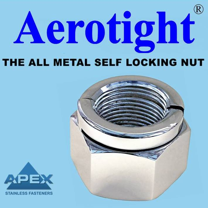 AEROTIGHT LOCKING NUTS