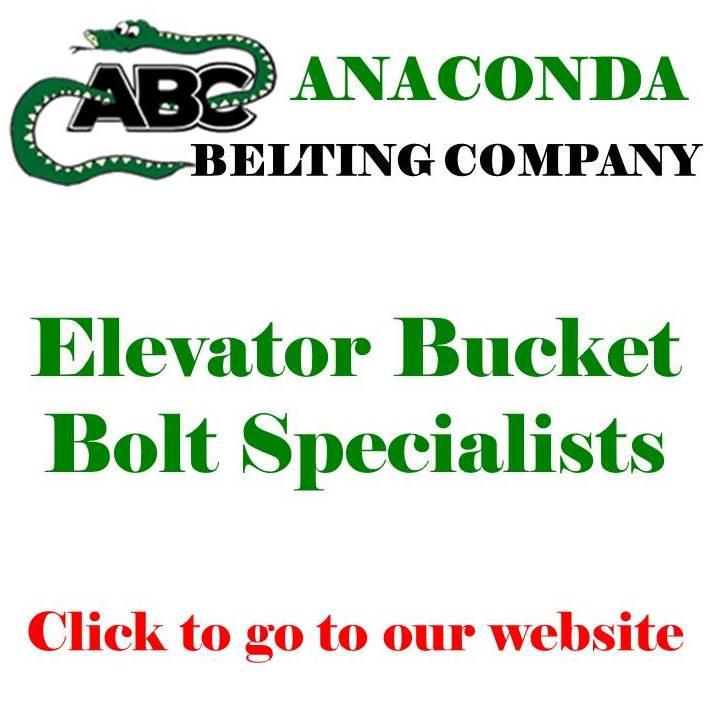 ANACONDA ELEVATOR BUCKET BOLTS