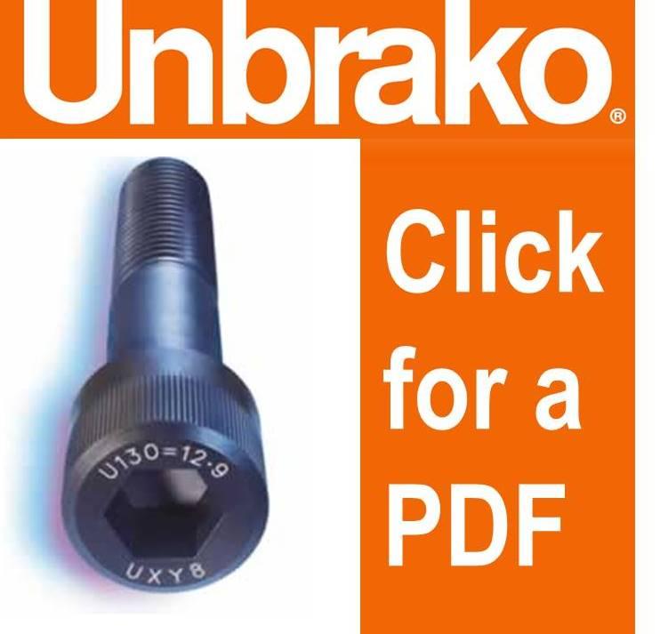 Fastenerdata - Unbrako - Fastener Specifications