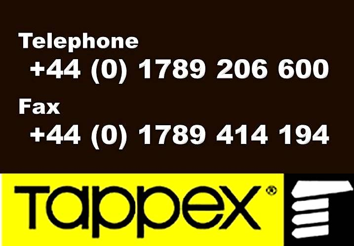 TAPPEX PHONE FAX