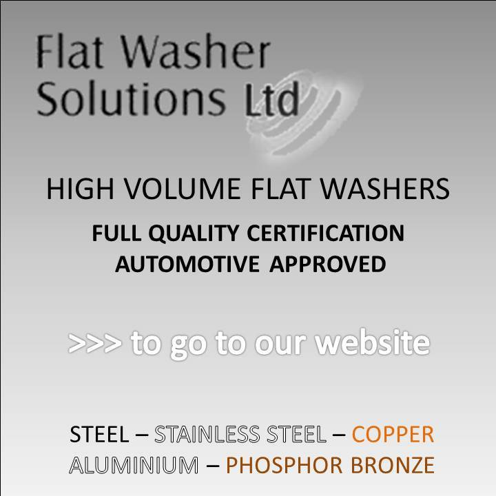 FLAT WASHER SOLUTIONS