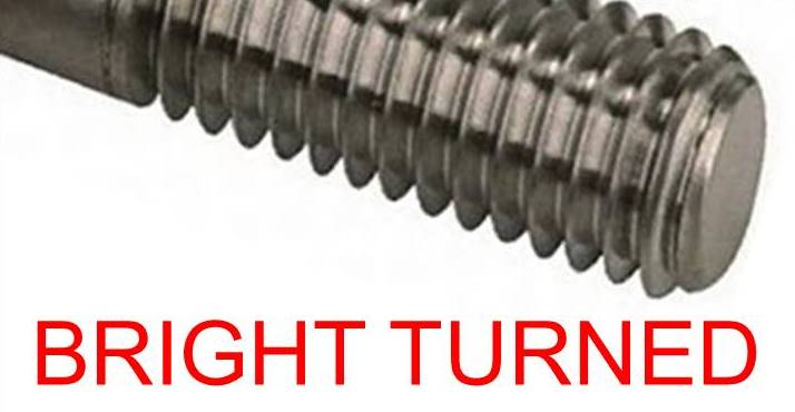 BRIGHT TURNED FASTENERS