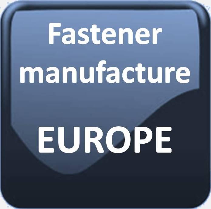 FASTENER MANUFACTURERS WEST EUROPE