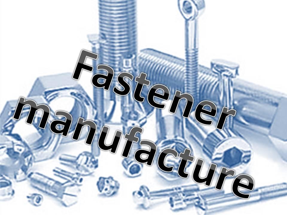 fastener manufacturers
