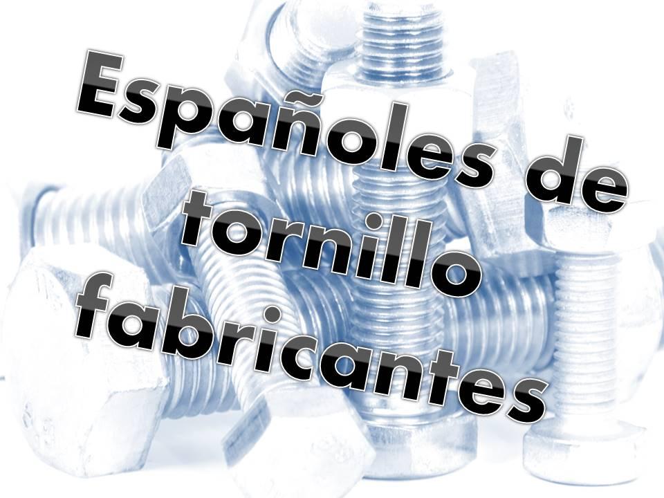 SPANISH FASTENER MANUFACTURERS