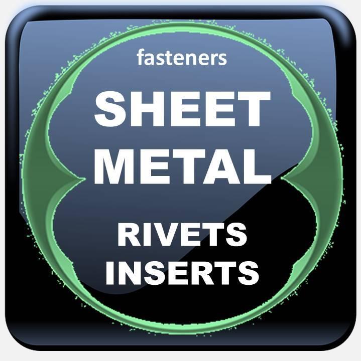 SHEET METAL FASTENERS RIVETS INSERTS