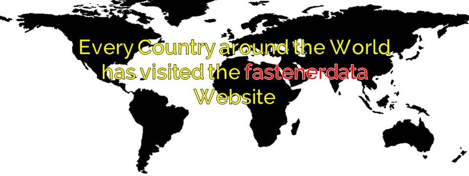 GLOBAL FASTENER INFORMATION
