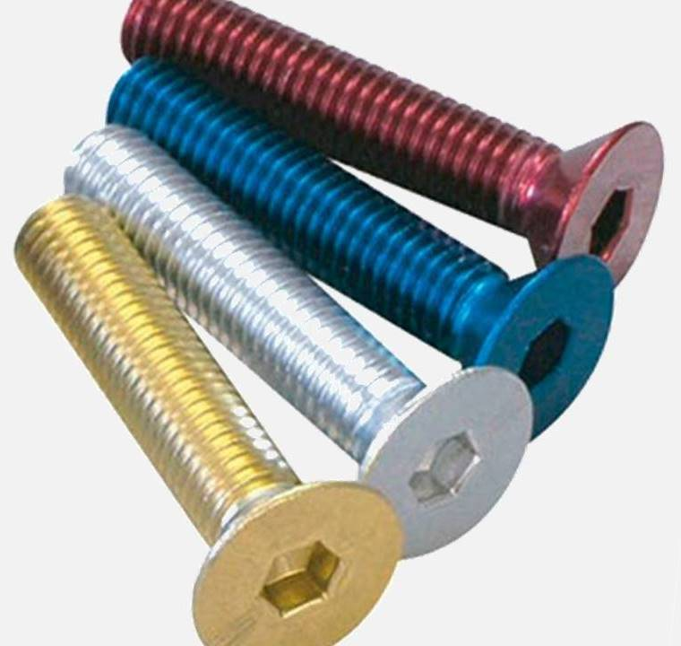 anodized fasteners