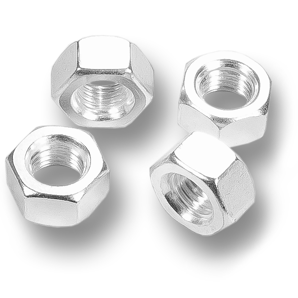 SILVER PLATED HEX NUTS