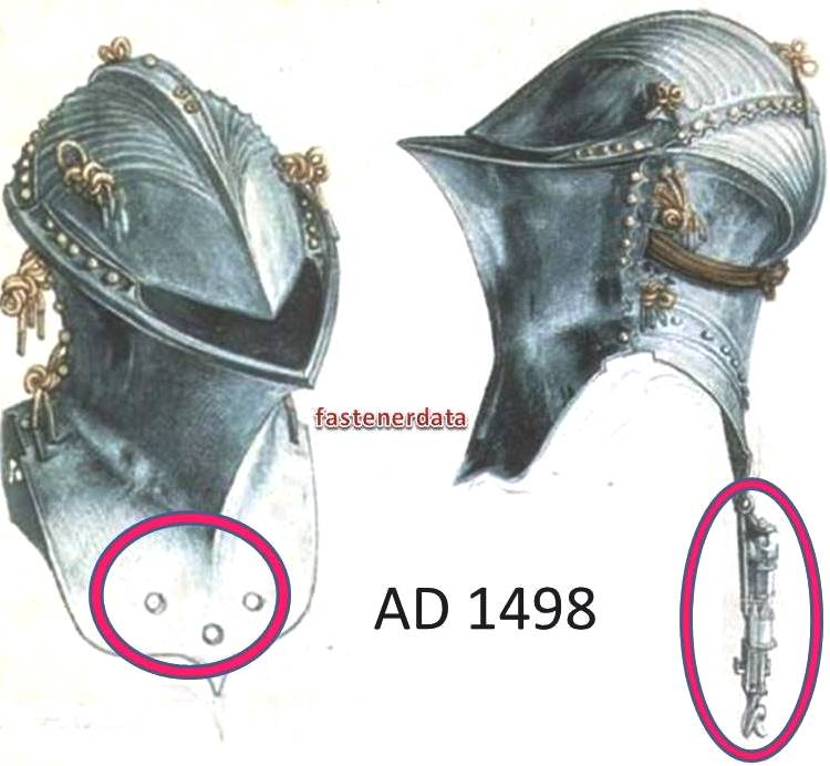FASTENERS IN ARMOUR