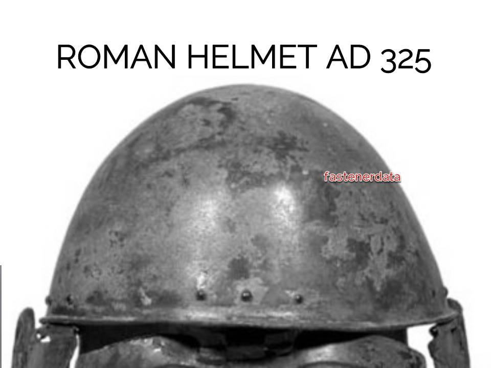 rivet roman helmet