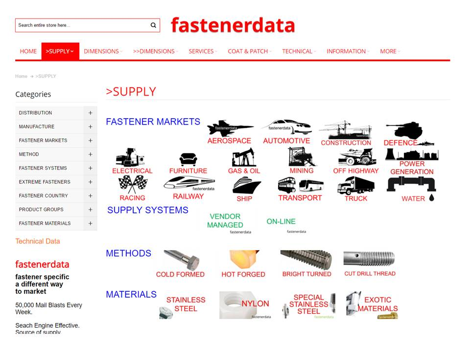 FASTENER SUPPLY TYPE