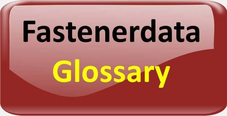 fastener glossary
