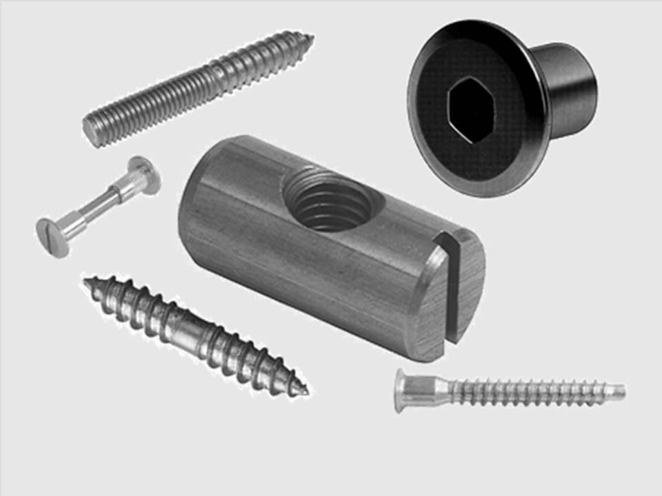 FURNITURE FIXINGS AND FASTENERS