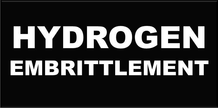 hydrogen deembrittlement