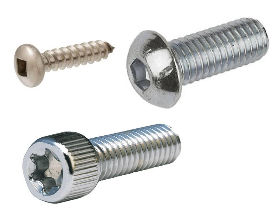fasteners sockets allen torx square