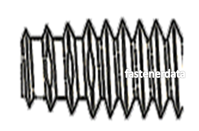 LO-DRIV THREAD FORMING SCREW