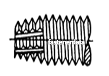 F POINT SELF TAPPING SCREW