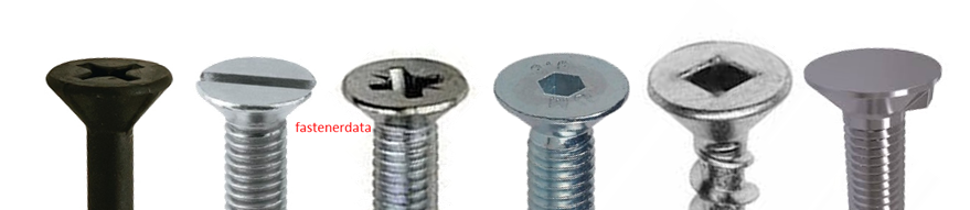 FLAT COUNTERSUNK HEAD