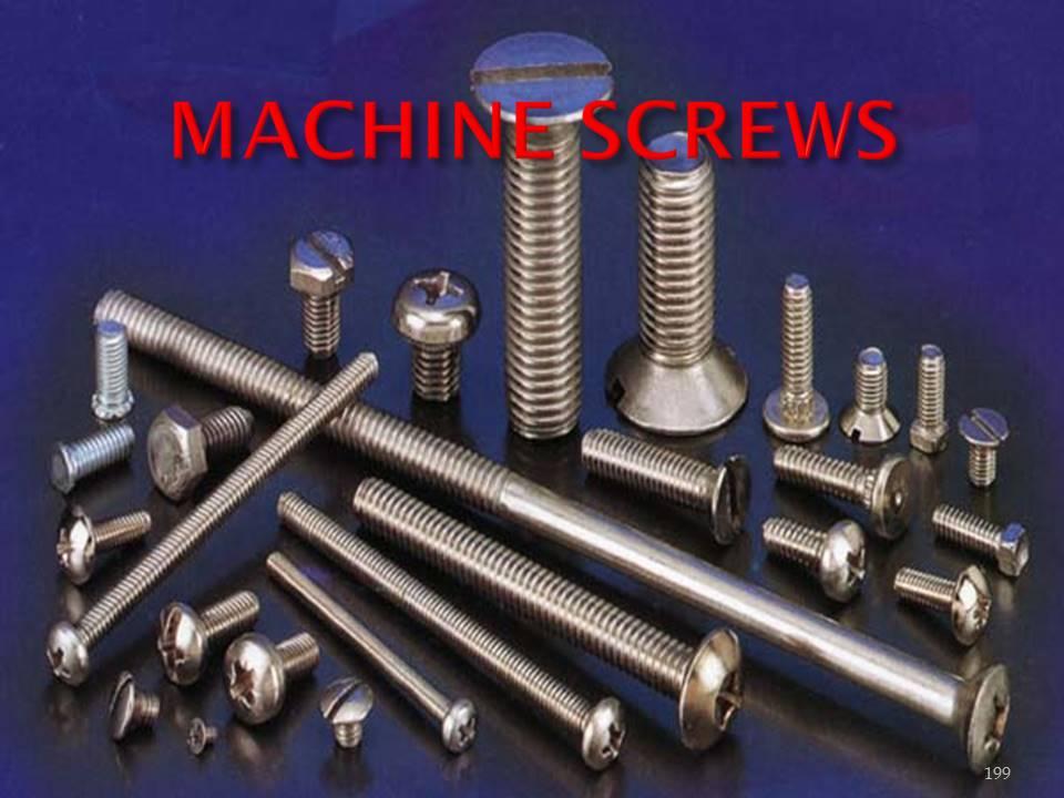 machine screw fasteners