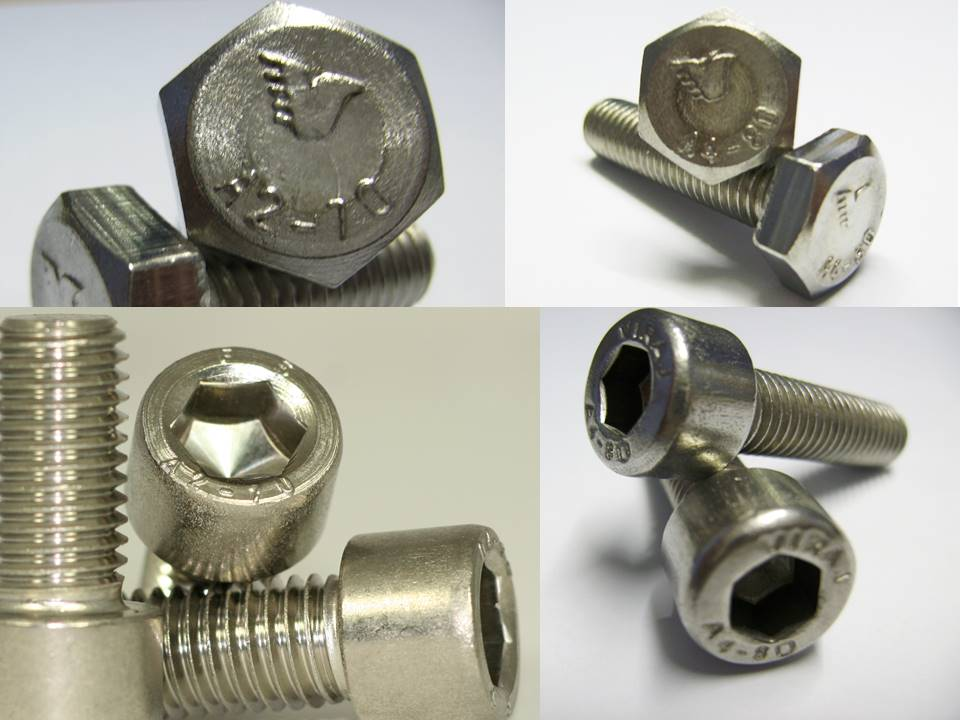 FASTENERS STAINLESS STEEL