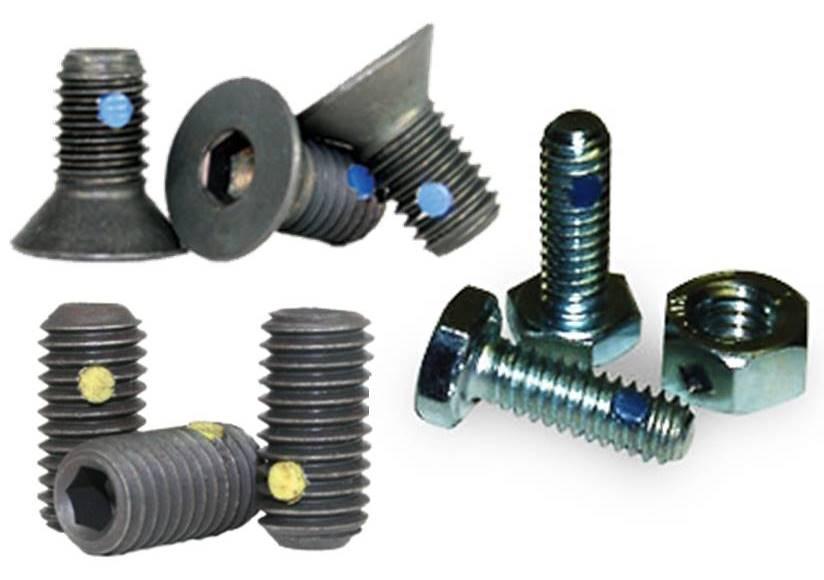 Threaded Locking : Fastenerdata thread locking pellet wedglok fastener