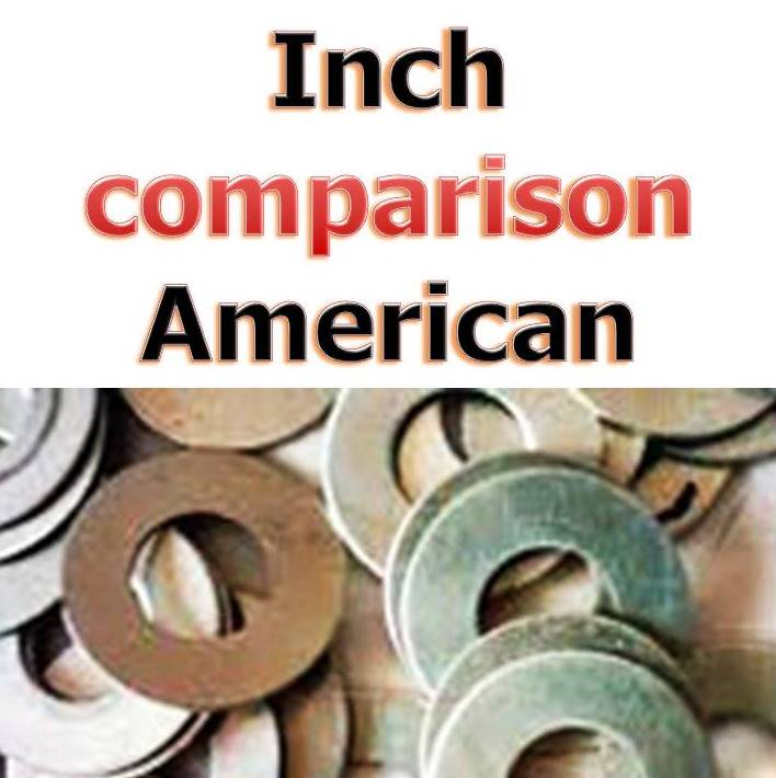 inch washers american spec
