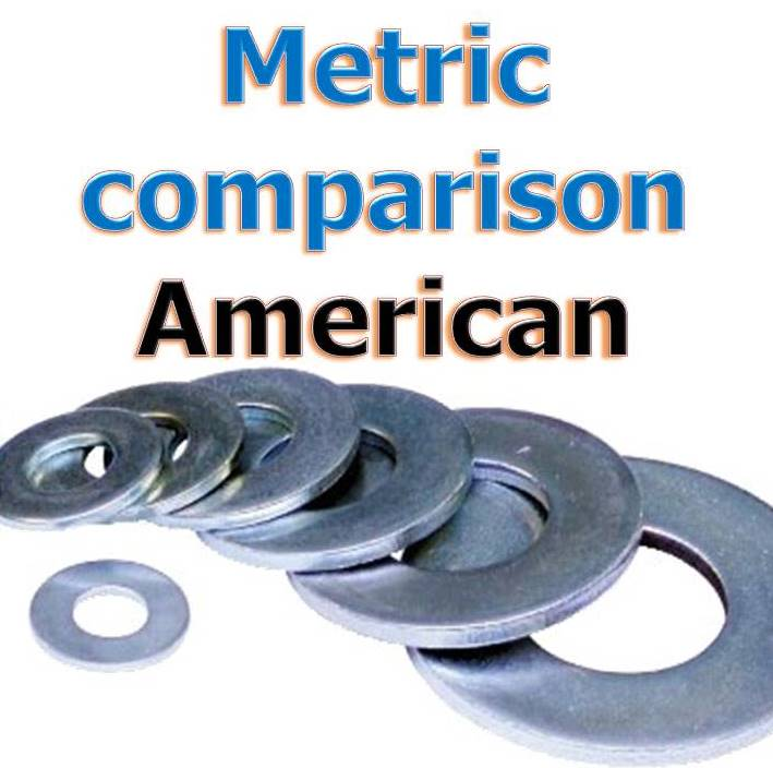 metric washer american spec