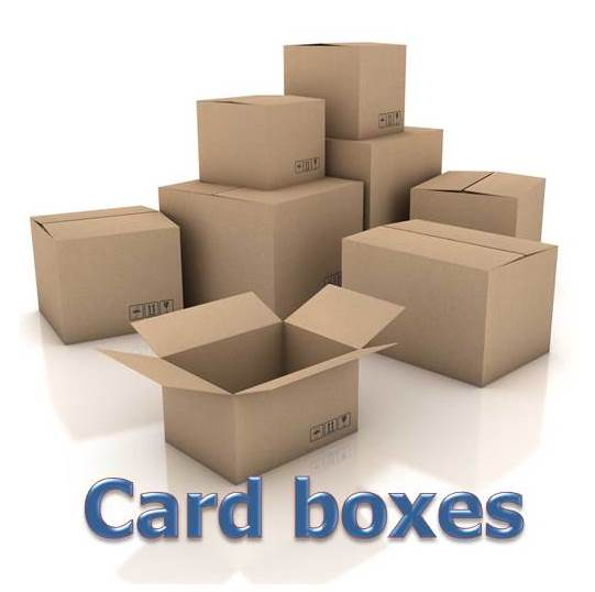 fastener card boxes