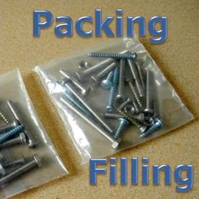 fastener packing and kitting