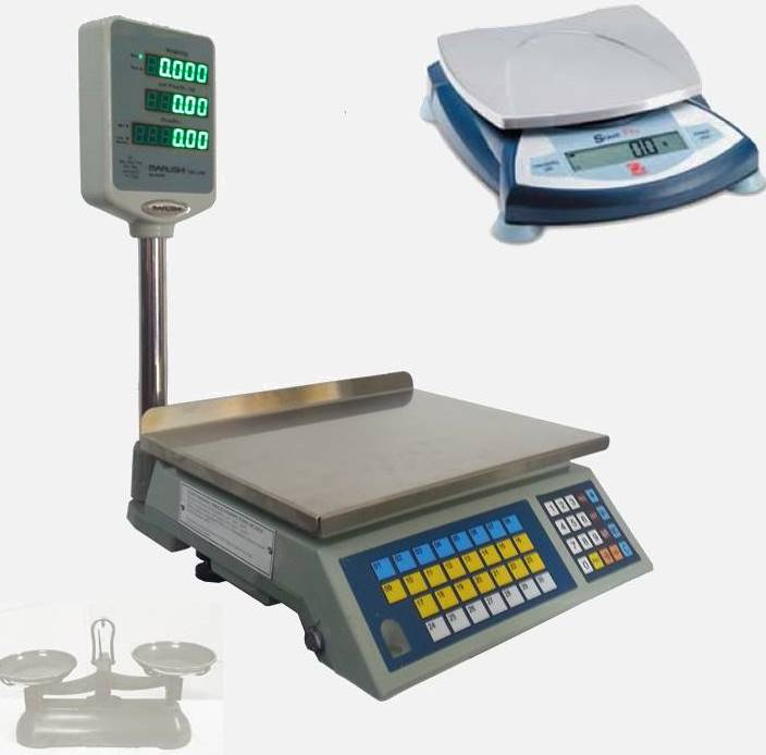 weight to count fastener scales
